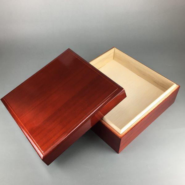 塗装仕上げ木箱