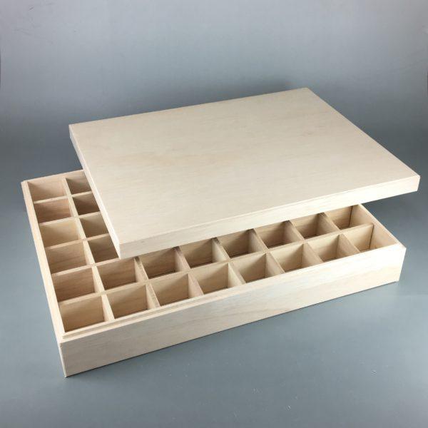 48仕切木箱