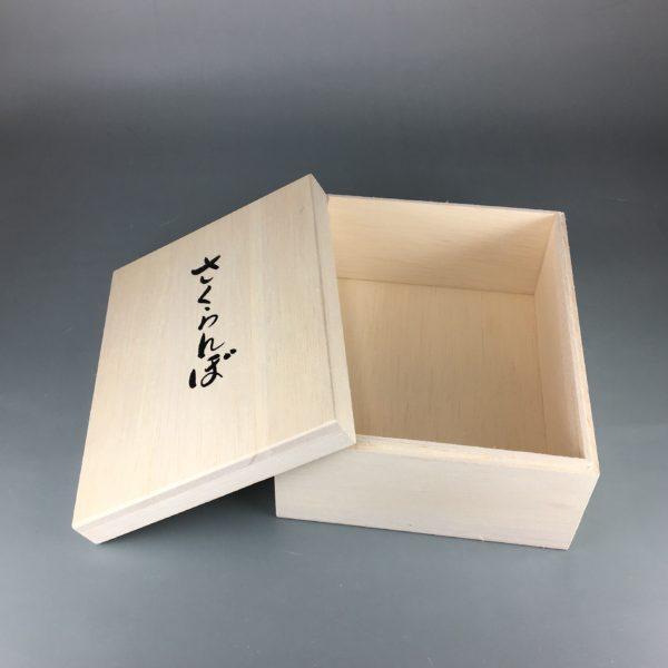 さくらんぼ用木箱