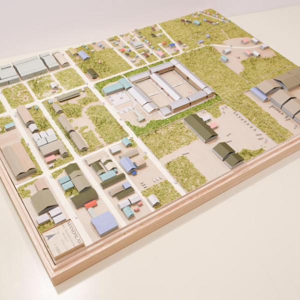 建築模型用木箱