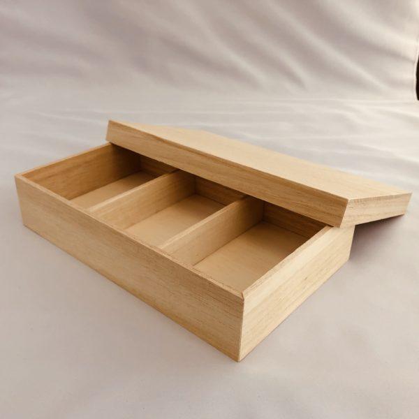 お菓子用木箱